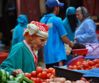 daily  market in Morocco