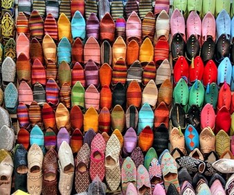 arts and crafts buying in Morocco