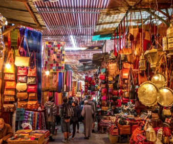 hiking the Medina of Fez