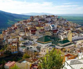 Trekking to Moulay Idriss