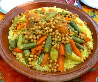 Cooking Couscous in Fez